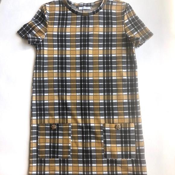 Zara Dresses & Skirts - Zara Plaid Dress